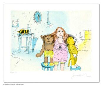 Janosch Die beste Freundin von Bär und Tiger