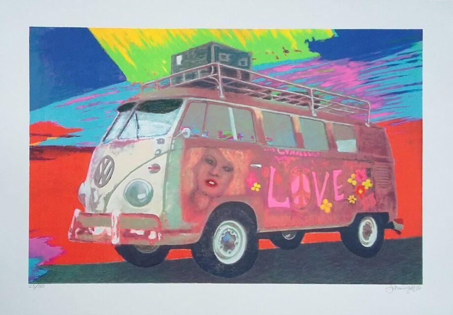 James Francis Gill Hippie Bus