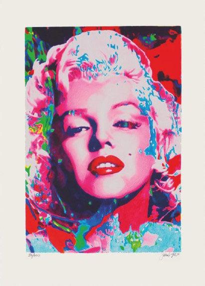 James Francis Gill Pink Marilyn