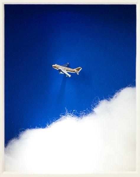 Volker Kühn Über den Wolken...(Flugzeug)