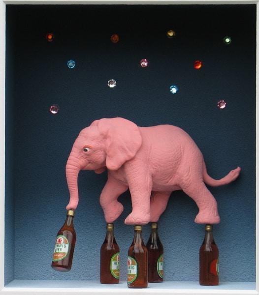 Volker Kühn | Pink Elephant