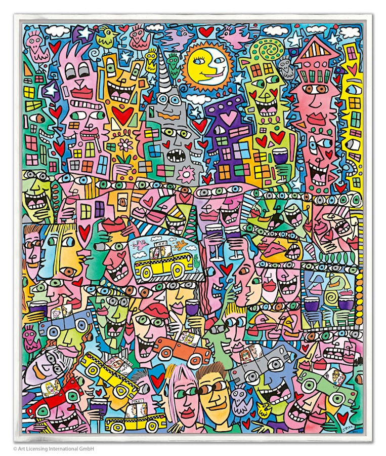 James Rizzi Getting the most out of life