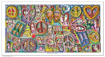James Rizzi Give peace a chance