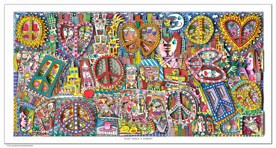 James Rizzi | Give peace a chance