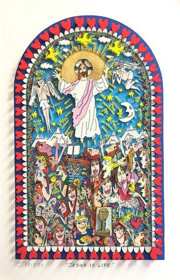 James Rizzi | Jesus is life