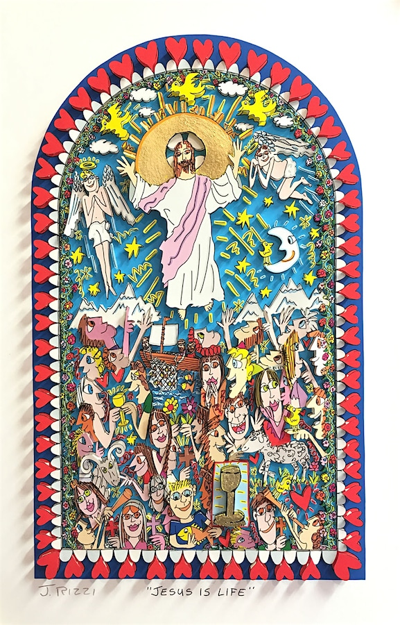 James Rizzi | Jesus is life