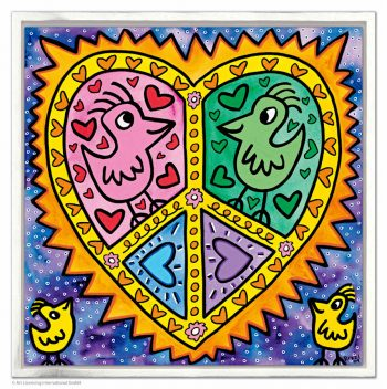 James Rizzi Mommy + daddy in love