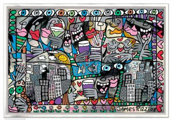 James Rizzi So happy together