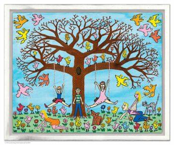 James Rizzi | Tree times the fun