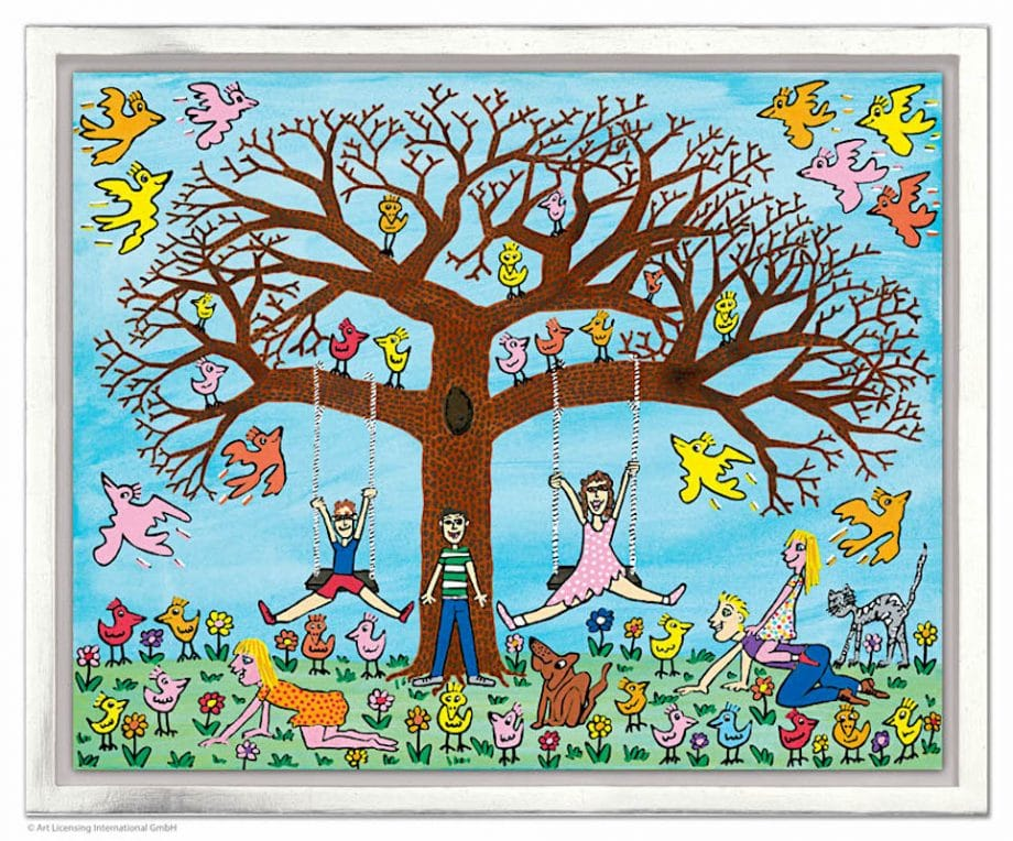 James Rizzi | Tree times the fun