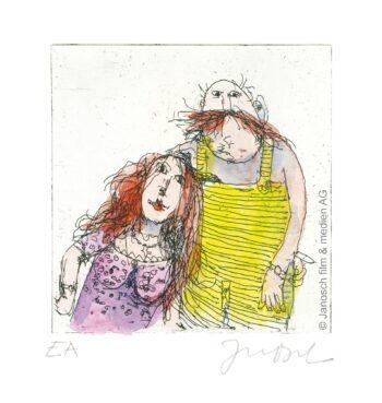 Janosch | Ich und Marie im Herbst 98