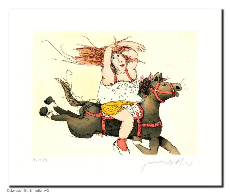 Janosch Susanne hat ein Pferd Juche