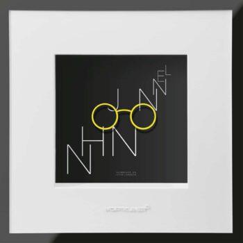 Ralf Birkelbach Wortkunst John Lennon 2C