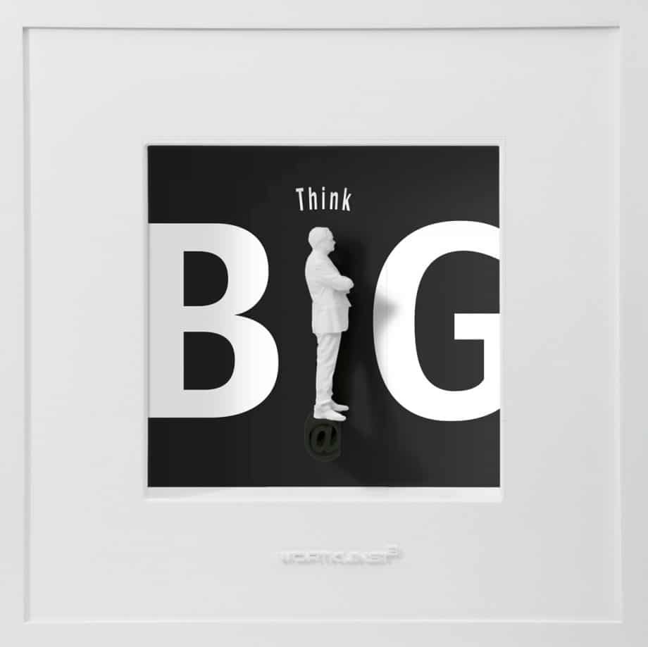 Ralf Birkelbach | Wortkunst | Think Big W