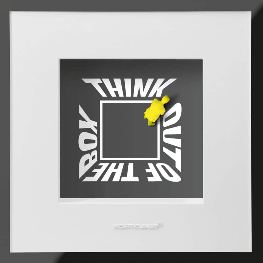 Ralf Birkelbach | Wortkunst | Think out of the Box