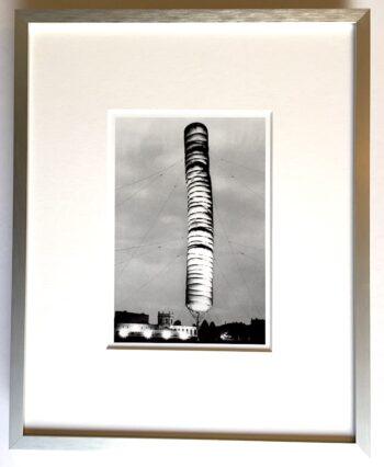 Christo | 5600 cubicmeter Kassel - gerahmter Miniprint