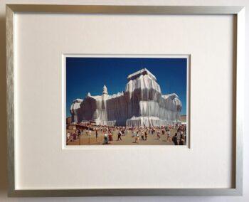 Christo | Reichstag - gerahmter Miniprint 2