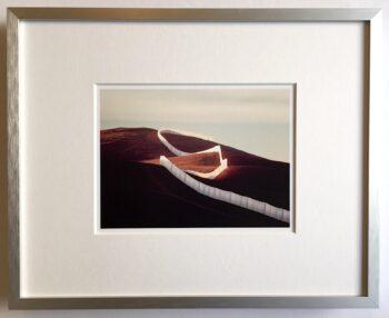 Christo   Running Fence - gerahmter Miniprint 1
