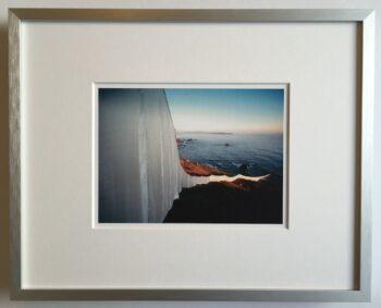 Christo   Running Fence - gerahmter Miniprint 2