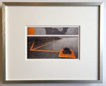 Christo The Floating Piers - gerahmter Miniprint 5