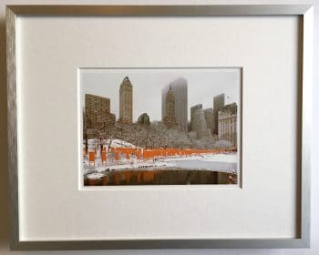 Christo | The Gates - gerahmter Miniprint 2