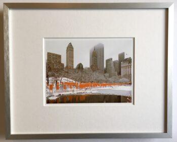 Christo   The Gates - gerahmter Miniprint 2