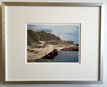 Christo | Wrapped Coast - gerahmter Miniprint