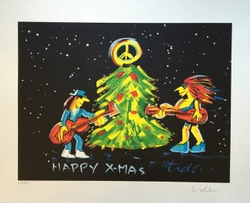 Udo Lindenberg | Happy X-mas - Siebdruck