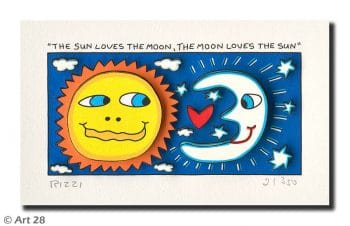 James Rizzi | The Sun Loves The Moon And The Moon Loves The Sun