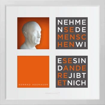Ralf Birkelbach | Wortkunst | Konrad Adenauer