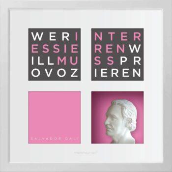 Ralf Birkelbach | Wortkunst | Salvador Dali