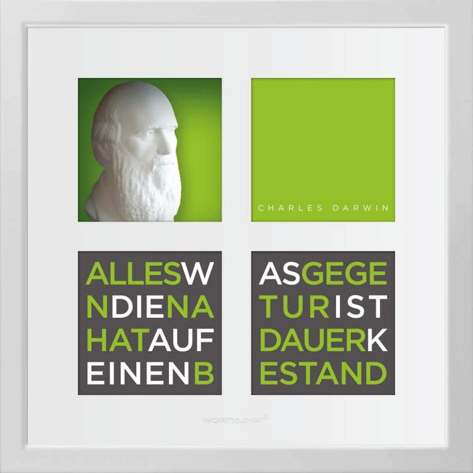 Ralf Birkelbach | Wortkunst | Charles Darwin