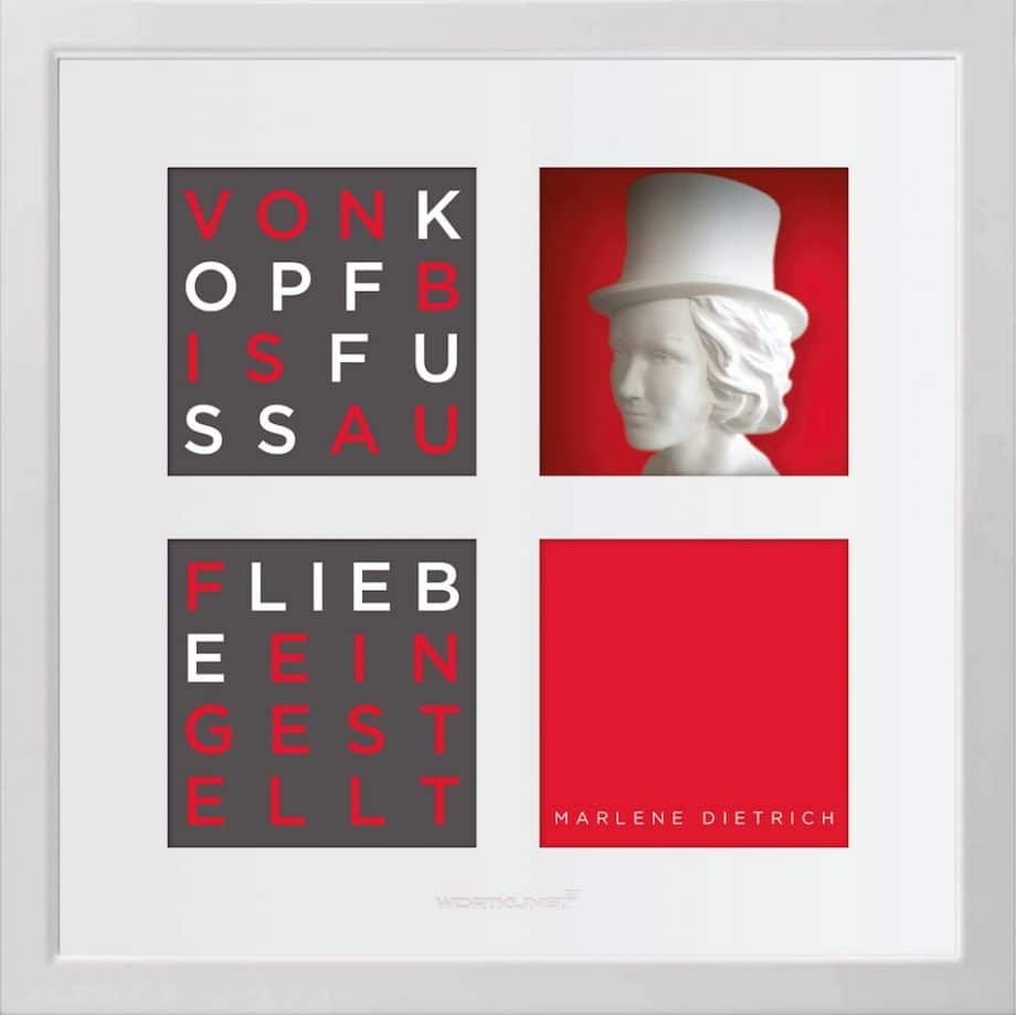 Ralf Birkelbach | Wortkunst | Marlene Dietrich