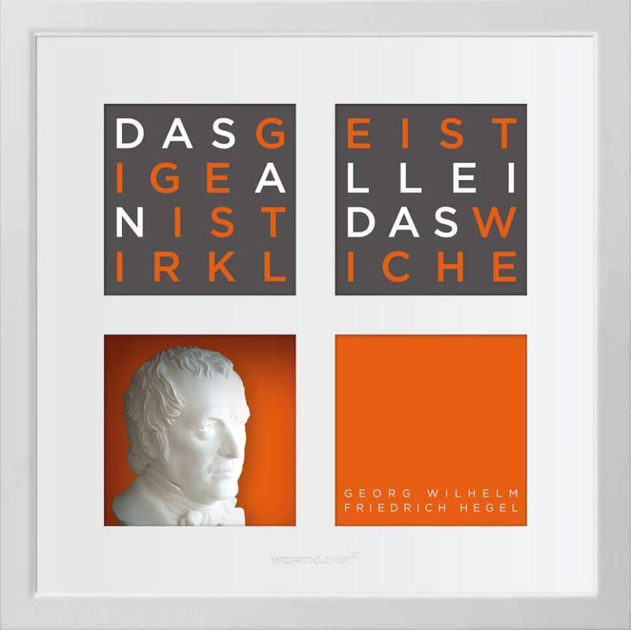 Ralf Birkelbach | Wortkunst | Georg Wilhelm Friedrich Hegel