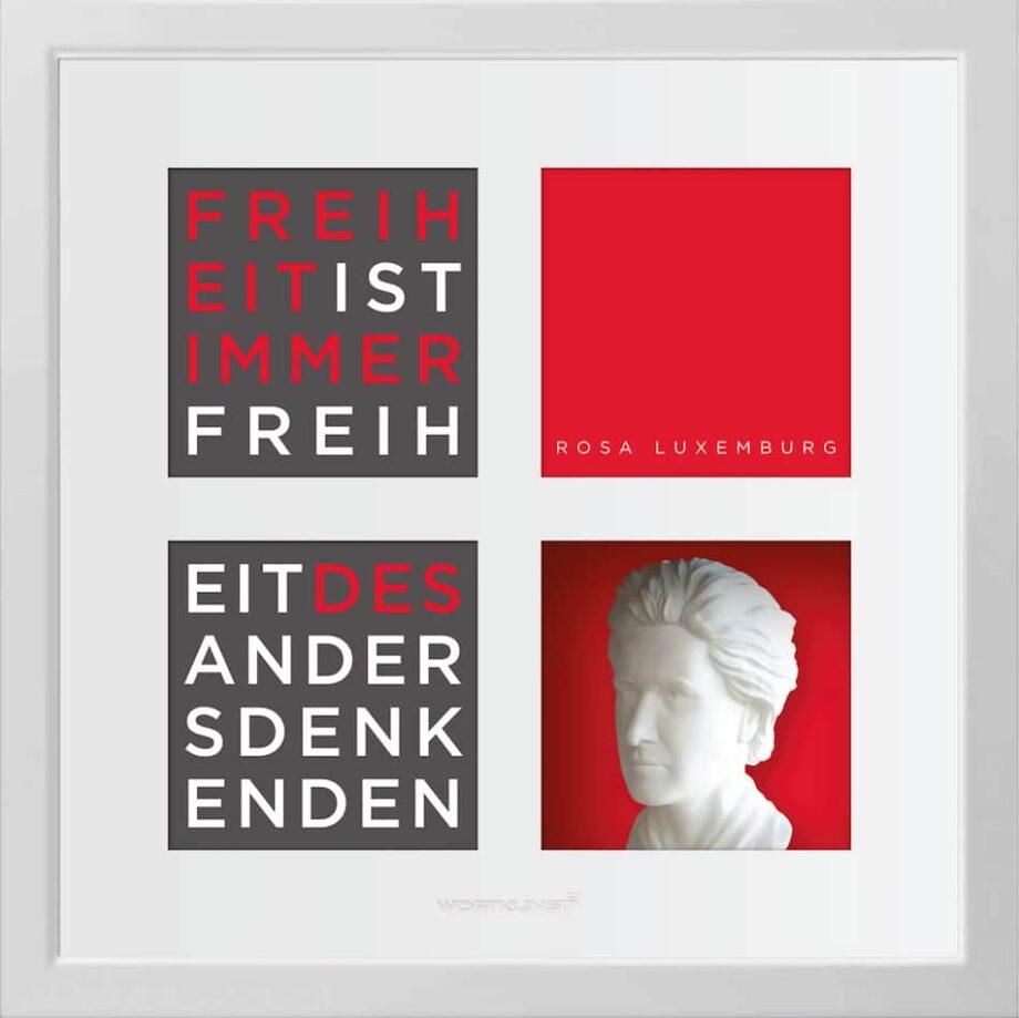 Ralf Birkelbach | Wortkunst | Rosa Luxemburg