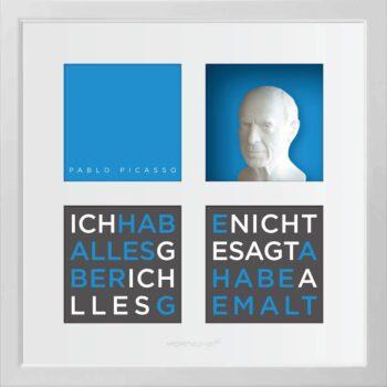 Ralf Birkelbach | Wortkunst | Pablo Picasso