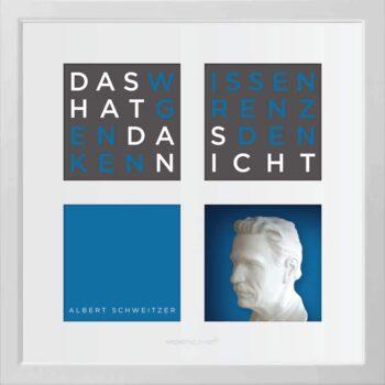Ralf Birkelbach | Wortkunst | Albert Schweitzer