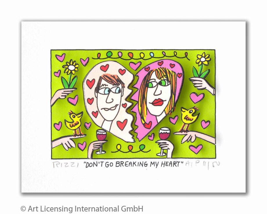 James Rizzi | Don't Go Breaking My Heart