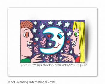 James Rizzi | Moon Beams And Dreams