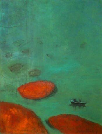 Antje Wichtrey | dort unten das Meer