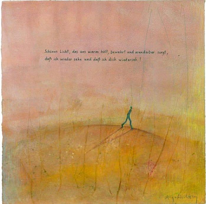 Antje Wichtrey | Schönes Licht das uns warm hält