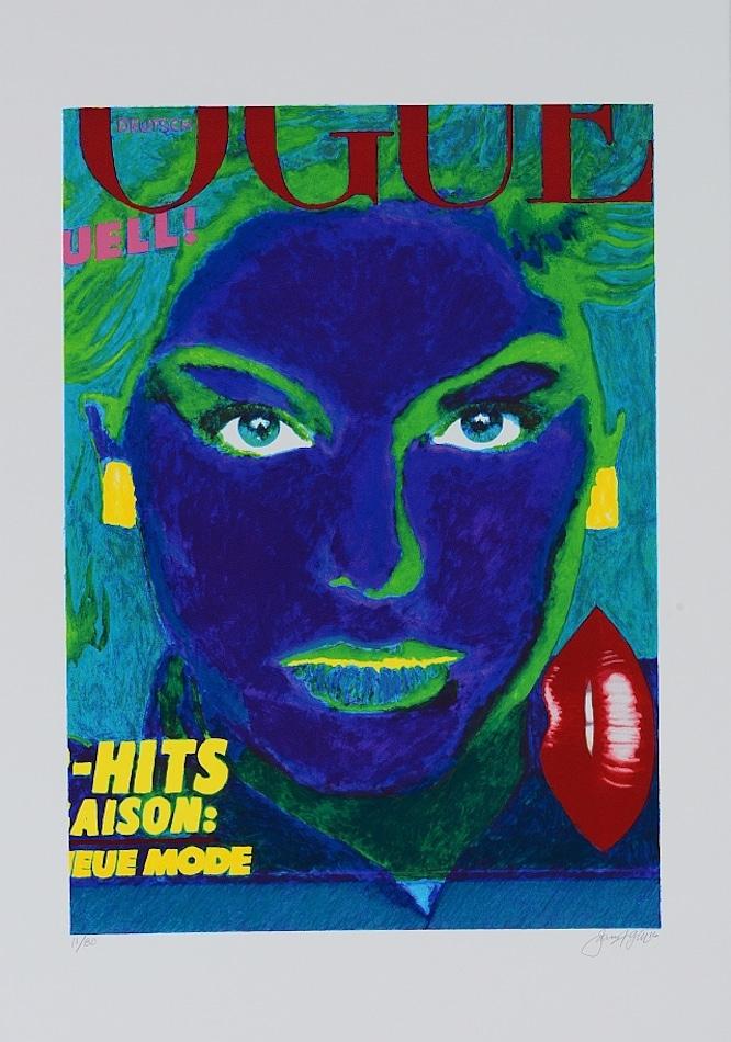 James Francis Gill German Vogue