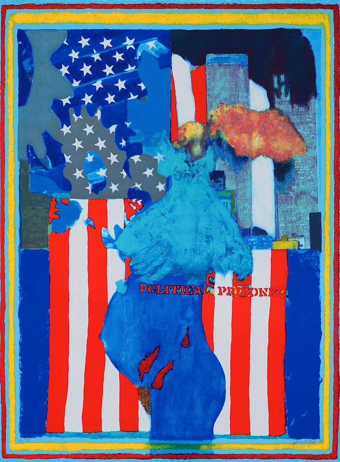 James Francis Gill Political Prisoner - TWIN TOWERS