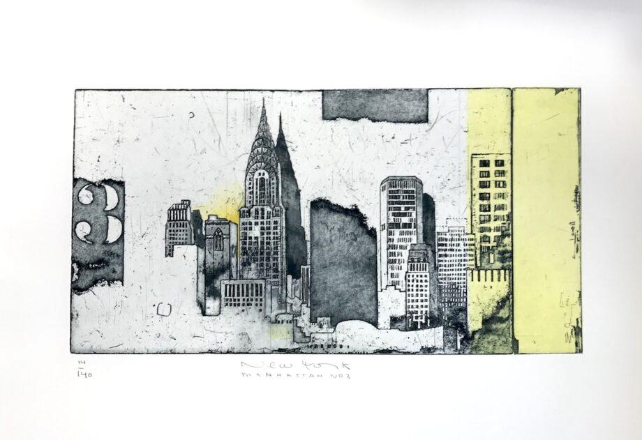 Stefan Becker   New York Manhattan No 3