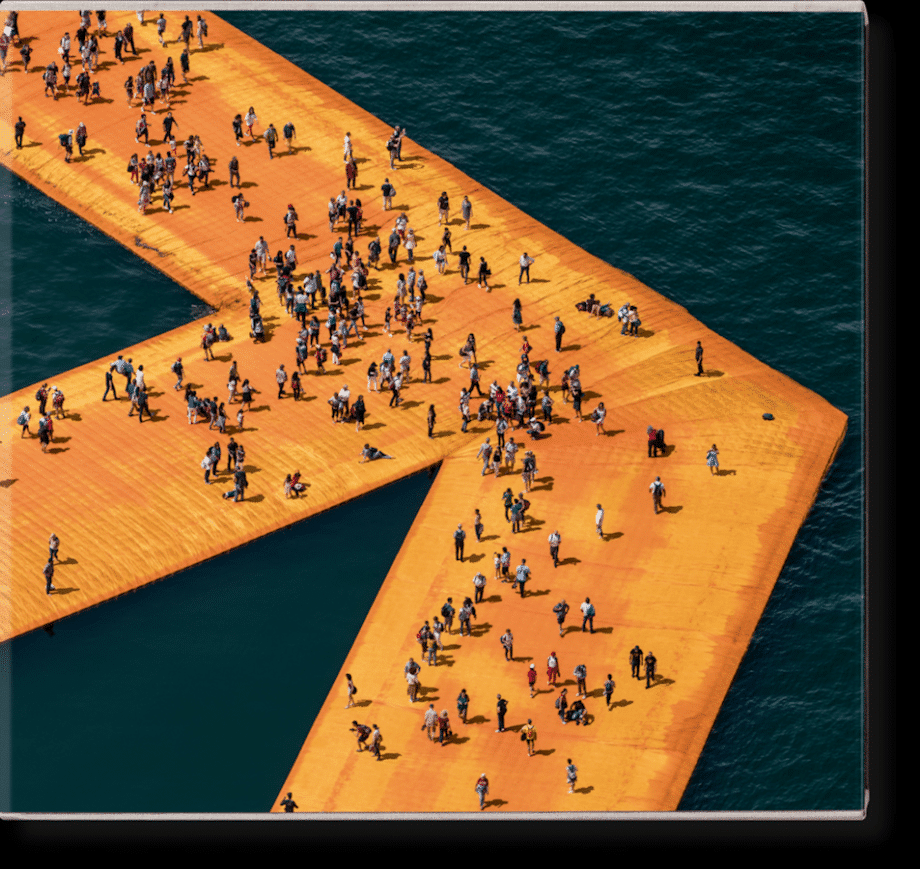 Christo and Jeanne-Claude   The Floating Piers