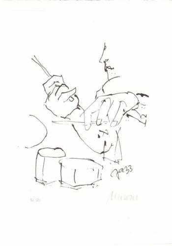 Armin Mueller-Stahl | Jazz - Schlagzeuger