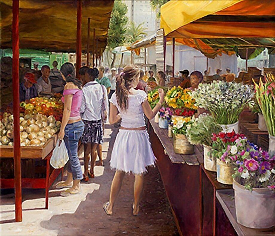 Christian Sommer Markttag in Habana