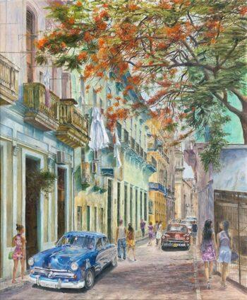 Christian Sommer | Roter Baum I