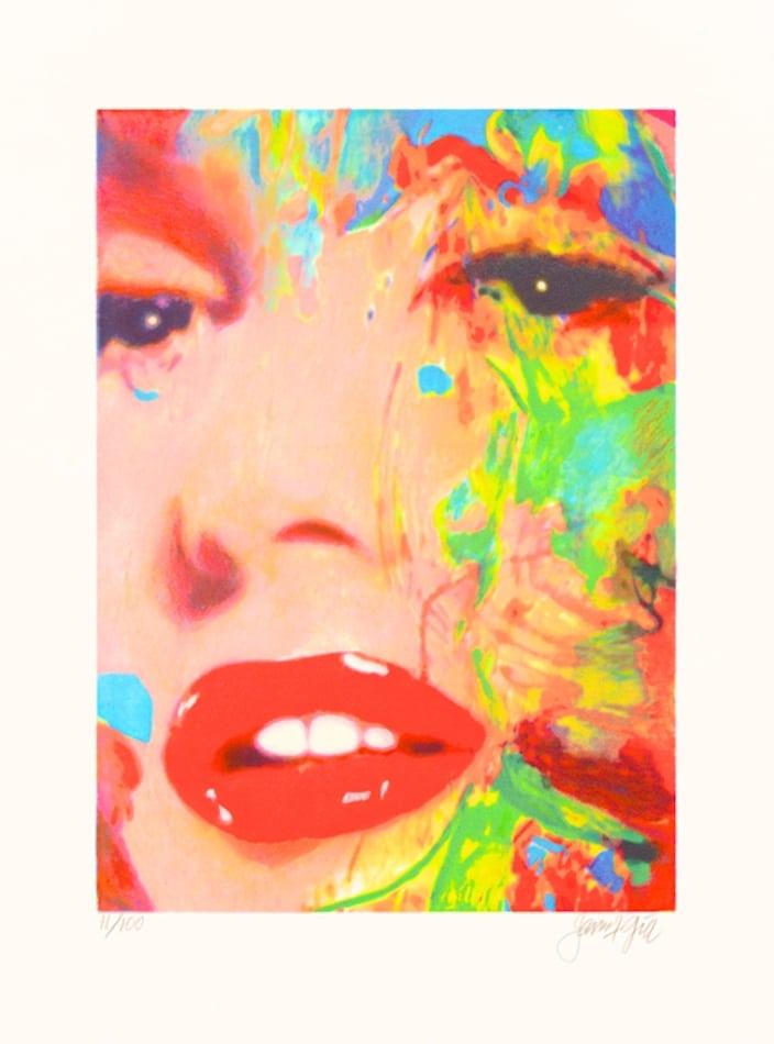 James Francis Gill Close-Up 3 Marilyn