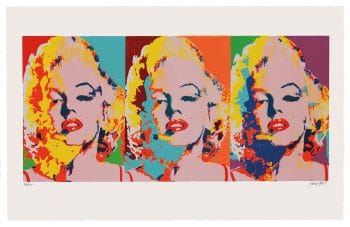 James Francis Gill | Three Faces of Marilyn